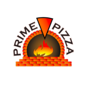 This is the restaurant logo for Prime Pizza