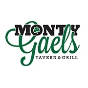 This is the restaurant logo for Monty Gaels Tavern & Grill