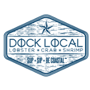This is the restaurant logo for Dock Local Uptown
