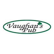 This is the restaurant logo for Vaughan's Pub
