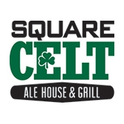 This is the restaurant logo for Square Celt Ale House & Grill
