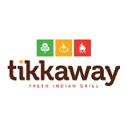 This is the restaurant logo for Tikkaway - New Haven