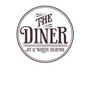 This is the restaurant logo for The Diner At 11 North Beacon