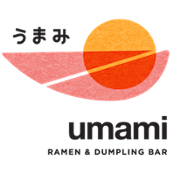 This is the restaurant logo for Umami Ramen & Dumpling Bar