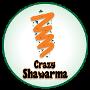 Restaurant logo for Crazy Shawarma