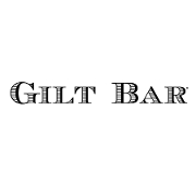 This is the restaurant logo for Gilt Bar