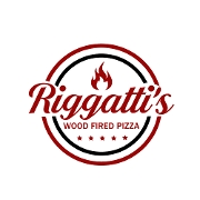 This is the restaurant logo for Riggatti's Wood Fired Pizza
