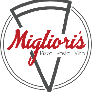 This is the restaurant logo for Migliori's Pizzeria
