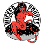 Restaurant logo for Wicked Donuts
