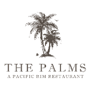 This is the restaurant logo for The Palms