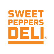 This is the restaurant logo for Sweet Peppers Deli