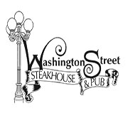 This is the restaurant logo for Washington Street Steakhouse & Pub