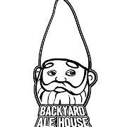 This is the restaurant logo for Backyard Ale House
