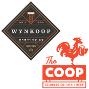 This is the restaurant logo for The Coop & Wynkoop Brewing Co.