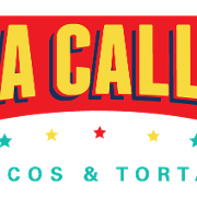 This is the restaurant logo for La Calle Tacos & Cantina