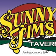 This is the restaurant logo for Sunny Jim's Tavern