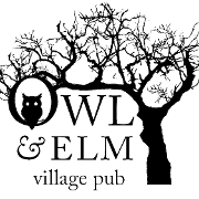This is the restaurant logo for Owl & Elm