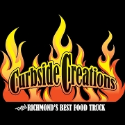 This is the restaurant logo for Curbside Creations