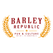 This is the restaurant logo for Barley Republic