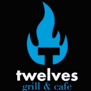 This is the restaurant logo for Twelves Grill & Cafe