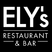 This is the restaurant logo for Ely's Restaurant & Bar