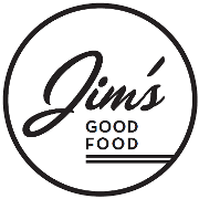 This is the restaurant logo for Jim's