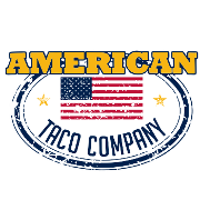This is the restaurant logo for American Taco Company