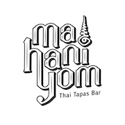 This is the restaurant logo for MAHANIYOM