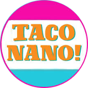 This is the restaurant logo for Taco Nano