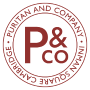 This is the restaurant logo for Puritan & Company