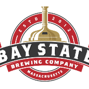 This is the restaurant logo for Bay State Brewery & Tap Room