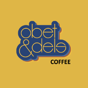 This is the restaurant logo for Obet & Del's Coffee