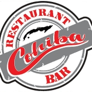This is the restaurant logo for COHIBA Restaurant & Bar