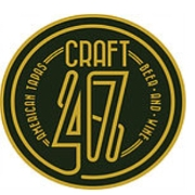 This is the restaurant logo for Craft 47