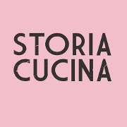This is the restaurant logo for Storia Cucina