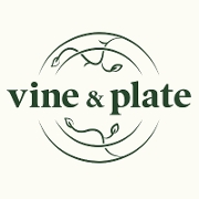 This is the restaurant logo for Vine & Plate