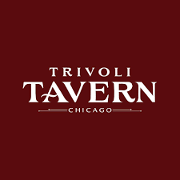 This is the restaurant logo for Trivoli Tavern