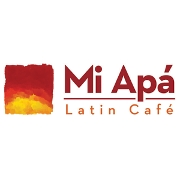 This is the restaurant logo for Mi Apa Latin Cafe of Alachua