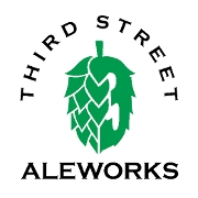 This is the restaurant logo for Third Street Aleworks