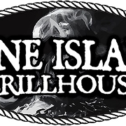 This is the restaurant logo for Bone Island Grillhouse