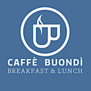 This is the restaurant logo for Caffe Buondi