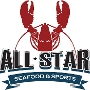Restaurant logo for All Star Seafood & Sports