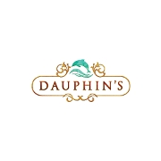 This is the restaurant logo for Dauphins