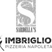 This is the restaurant logo for Sardella's Restaurant & Imbriglio's Pizzeria Napoletana