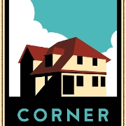 This is the restaurant logo for Corner Kitchen