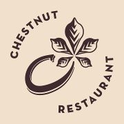 This is the restaurant logo for Chestnut Asheville