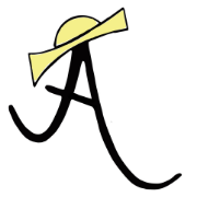 This is the restaurant logo for Amelie's French Bakery - Rock Hill