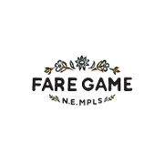 This is the restaurant logo for Fare Game