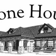 This is the restaurant logo for The Stone House