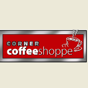 This is the restaurant logo for Corner Coffee Shoppe